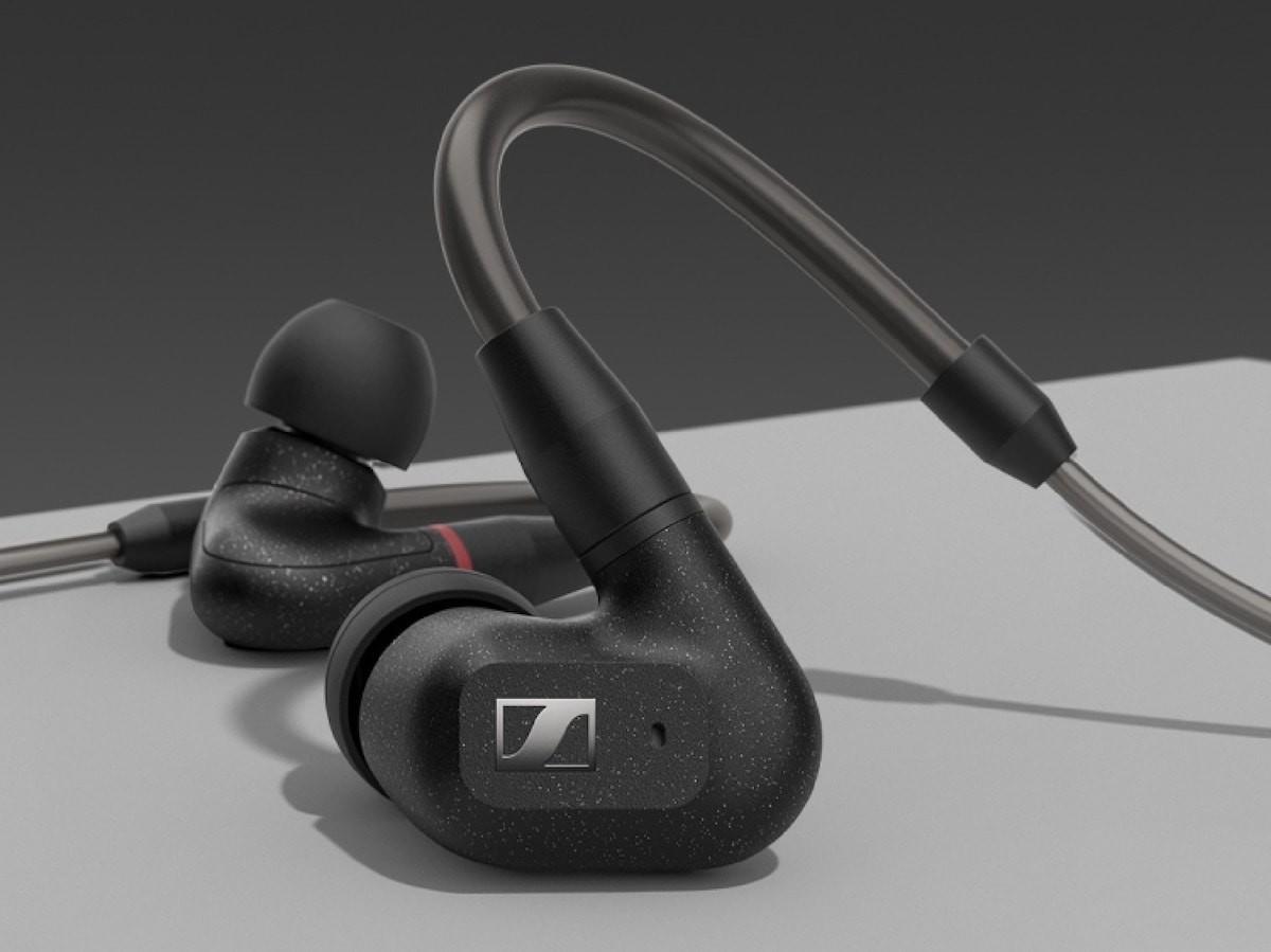 Sennheiser IE 300 in-ear headphones feature a 7 mm XWB transducer for natural sound