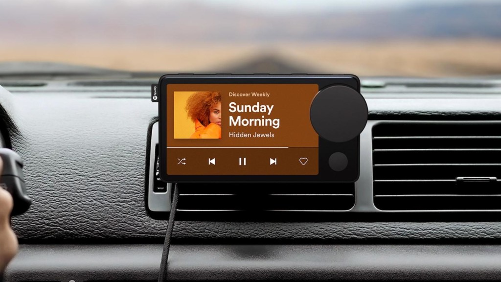 10 Futuristic high-tech gadgets we look forward to in 2021 Spotify Car Thing smart music player