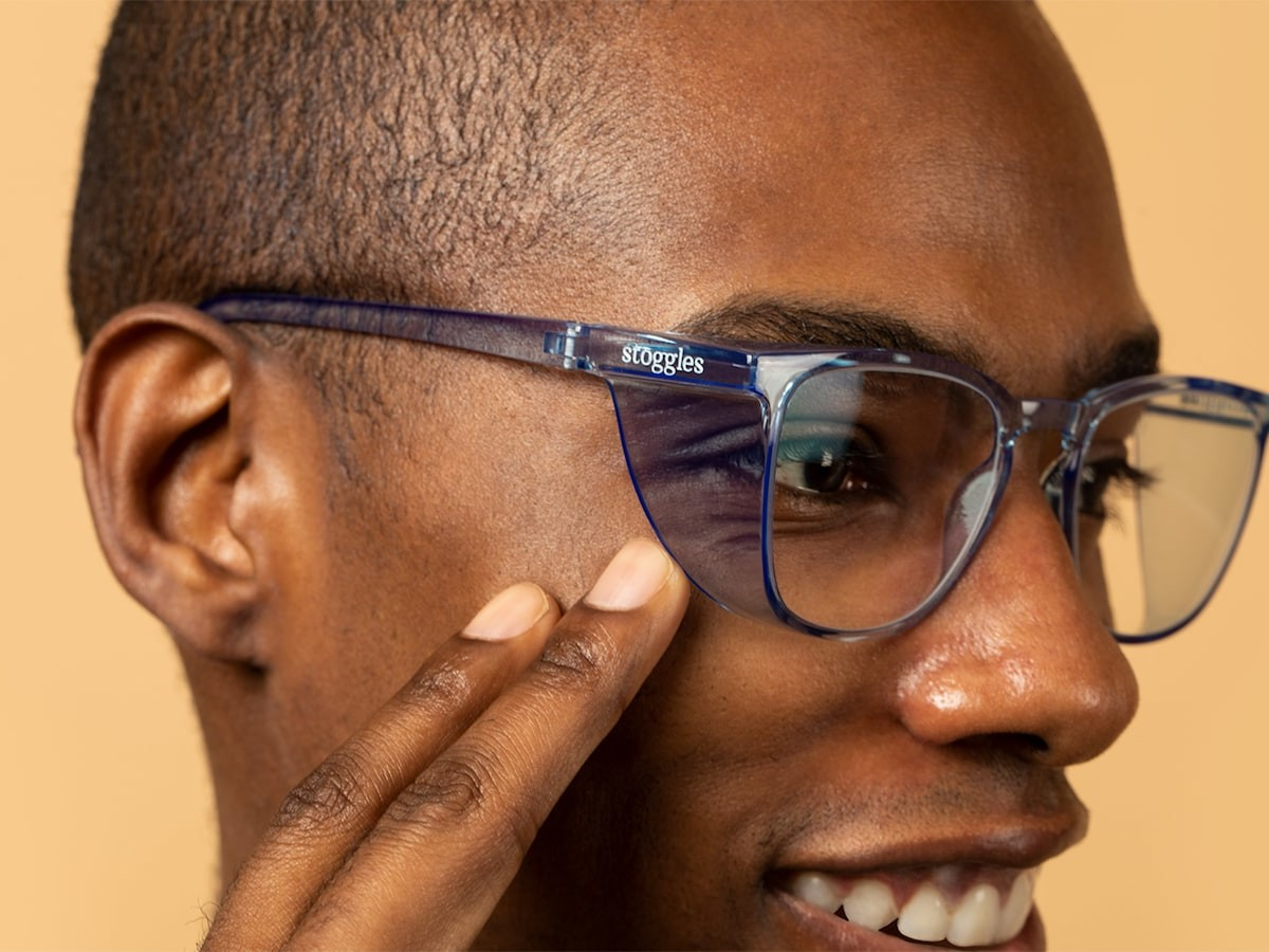 Stoggles everyday goggles feature an antifog coating & filter blue light to reduce strain