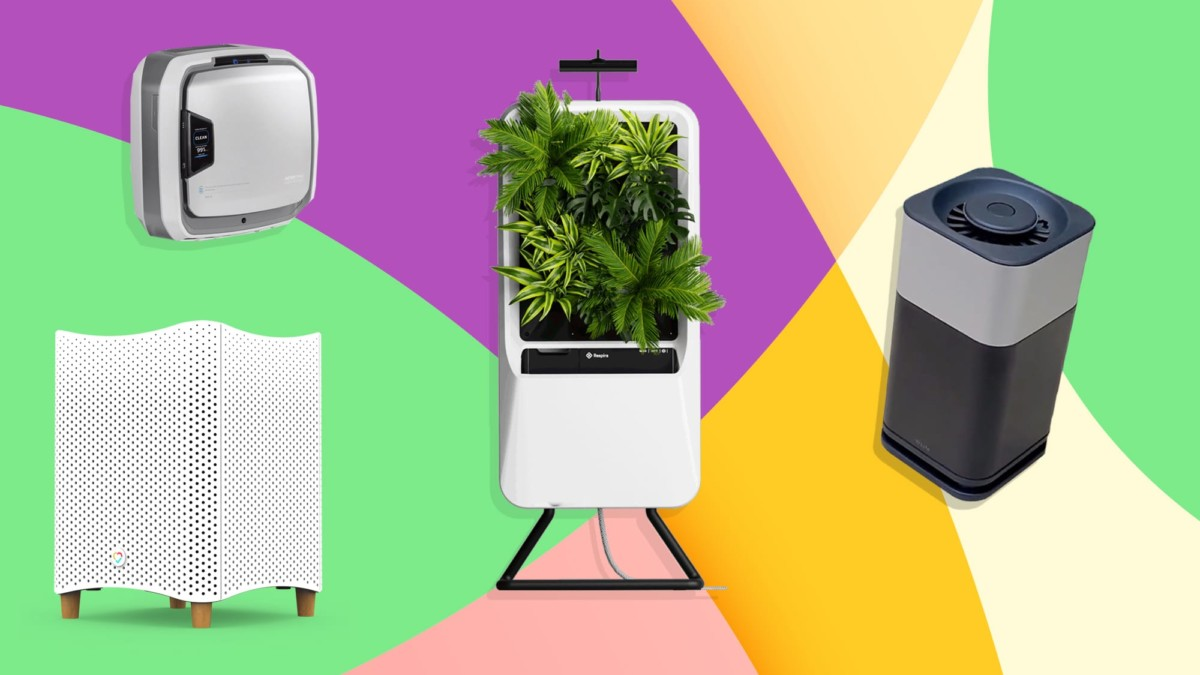The best air purifiers to buy in 2021—smart designs, quiet filters, window-mounted, & more