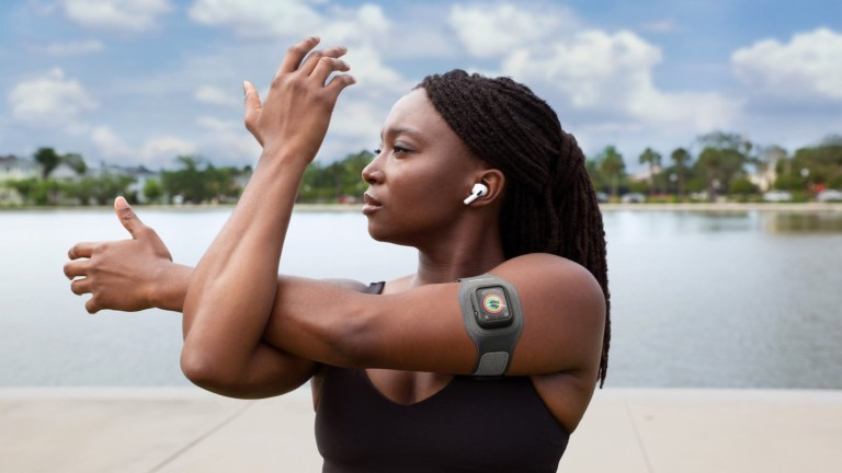 Twelve South ActionSleeve 2 Apple Watch fitness armband offers versatile wearing options
