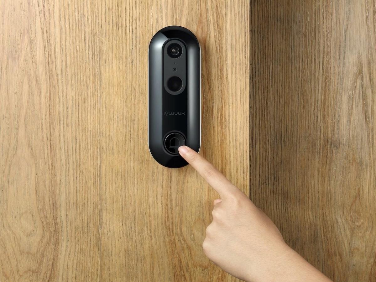 WUUK Smart Antitheft Doorbell has AI facial recognition and a voice gender modifier