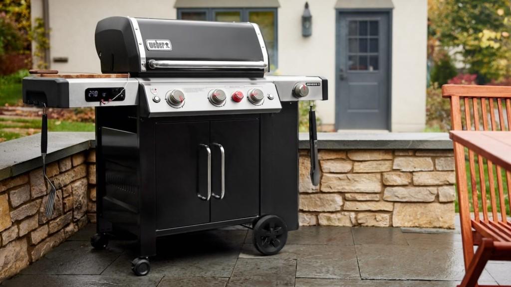 V Weber Smart Gas Grills