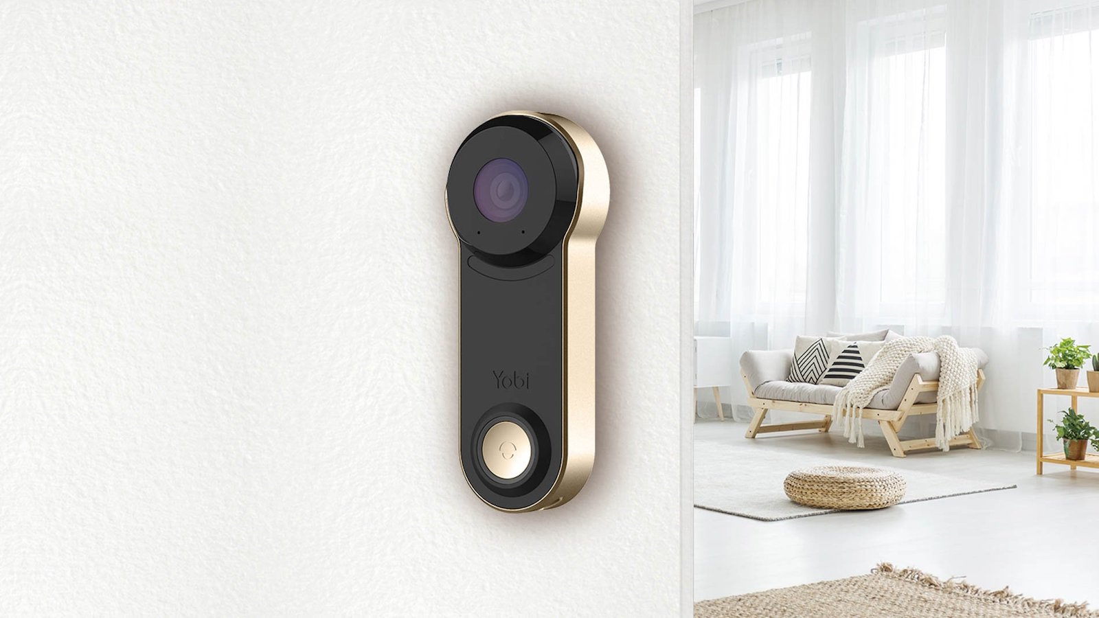 Yobi Video Smart Doorbell B3 features infrared night vision, smart notifications, and more
