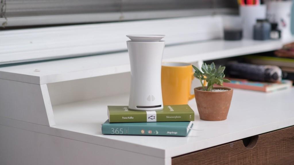 uHoo indoor air quality sensor