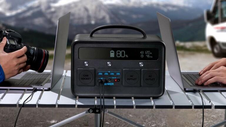 Anker PowerHouse II 800 powerful charging station packs 777 watt-hours for emergencies