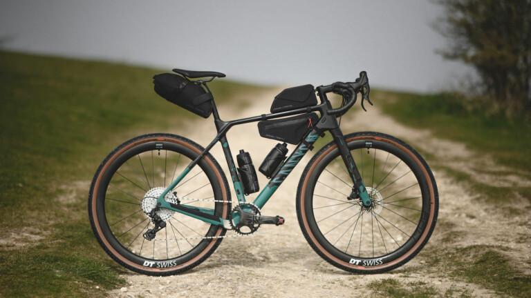Apidura x Canyon Bicycles cycling bag collection uses ultralight Hexalon material