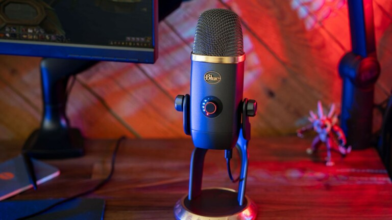 Blue Yeti X World of Warcraft Edition USB mic transforms your voice with Blue VO!CE