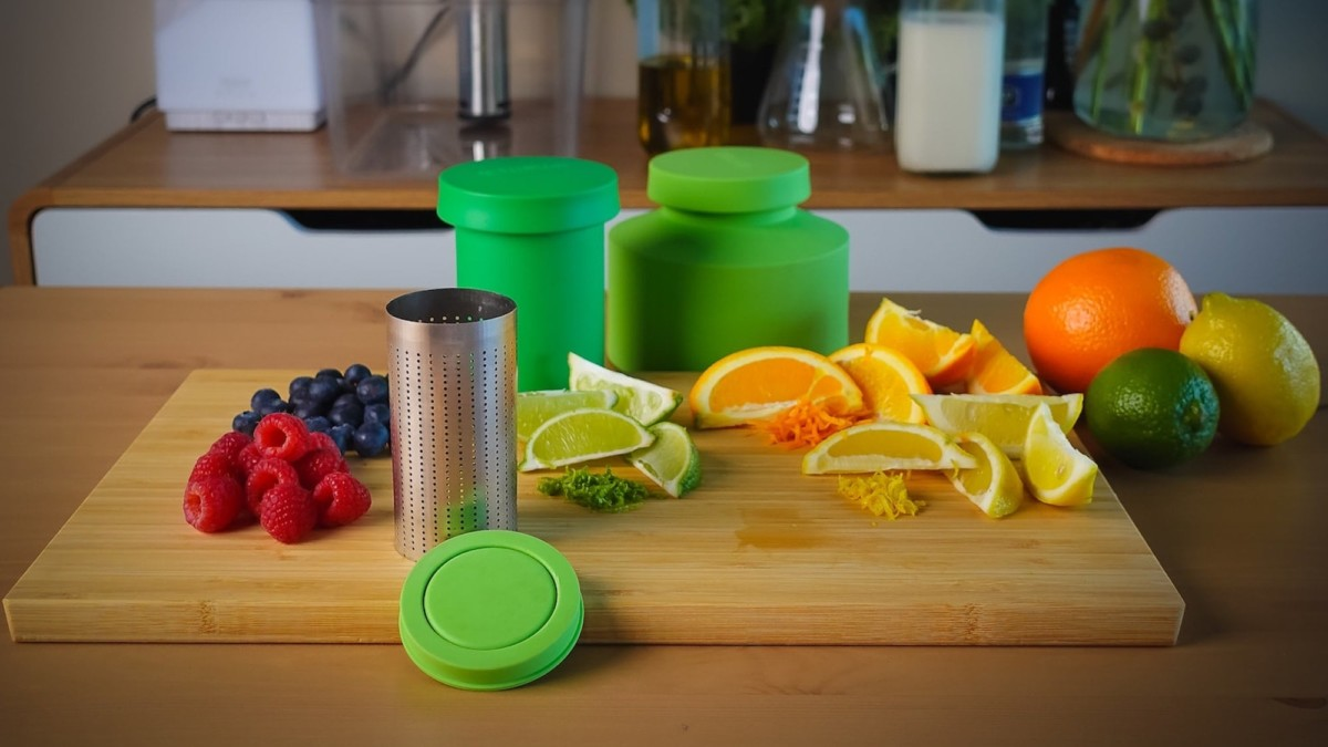 This home infusion kit makes it easy to create your own infused oils, coffee, and more