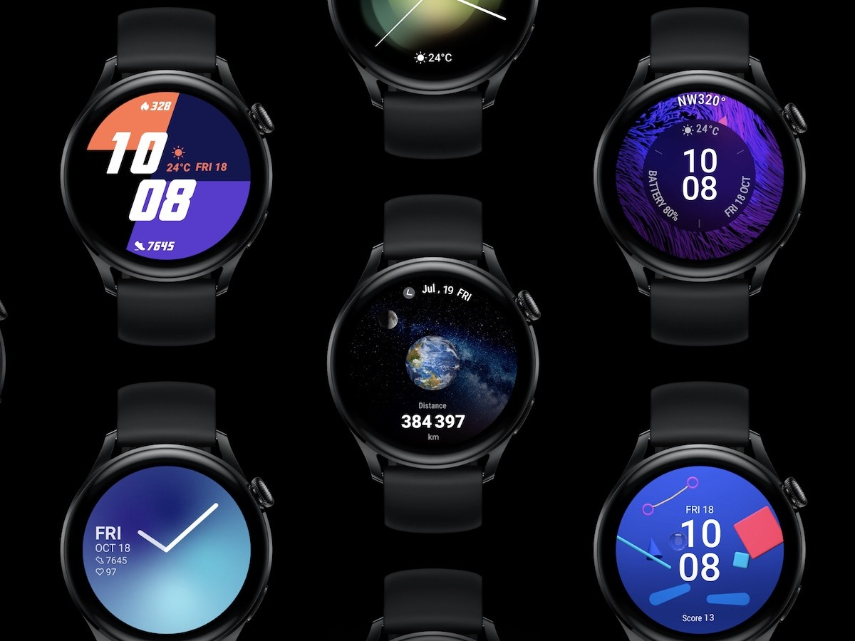 HUAWEI WATCH 3 smartwatch series features all-day health monitoring and animated faces