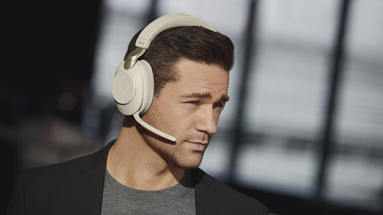 Jabra Evolve2 85 ANC wireless headset has an advanced digital chipset for incredible ANC