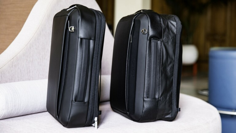 KABUTO Luggage Trunk x Backpack complete your organized travel collection with security