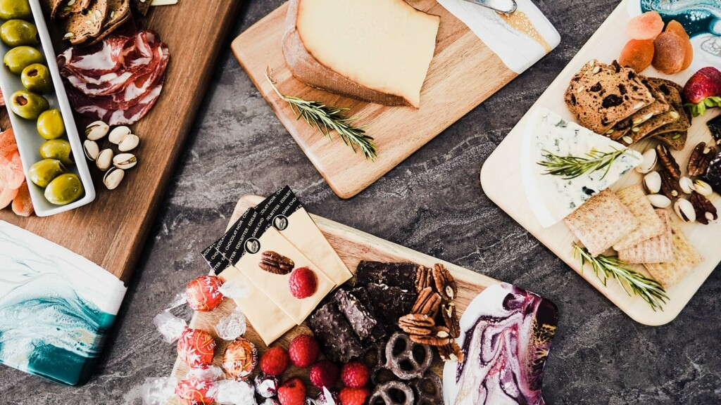 Lynn Liana Serveware Wood Cheese Boards