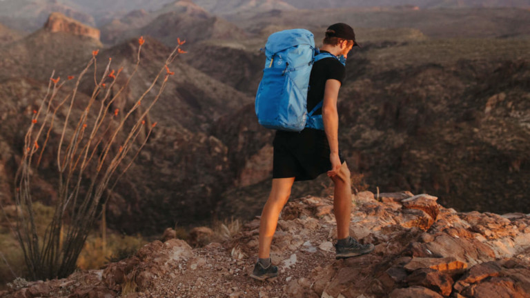 Moment Strohl Mountain Light 45L Backpack weighs 1 kg for a super lightweight design