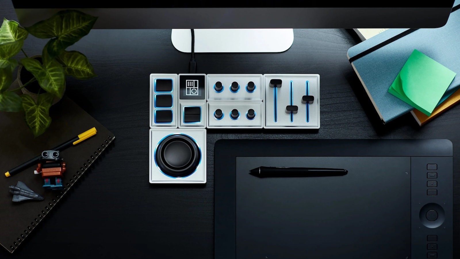 Monogram Creative Console modular control collection streamlines photo and video editing