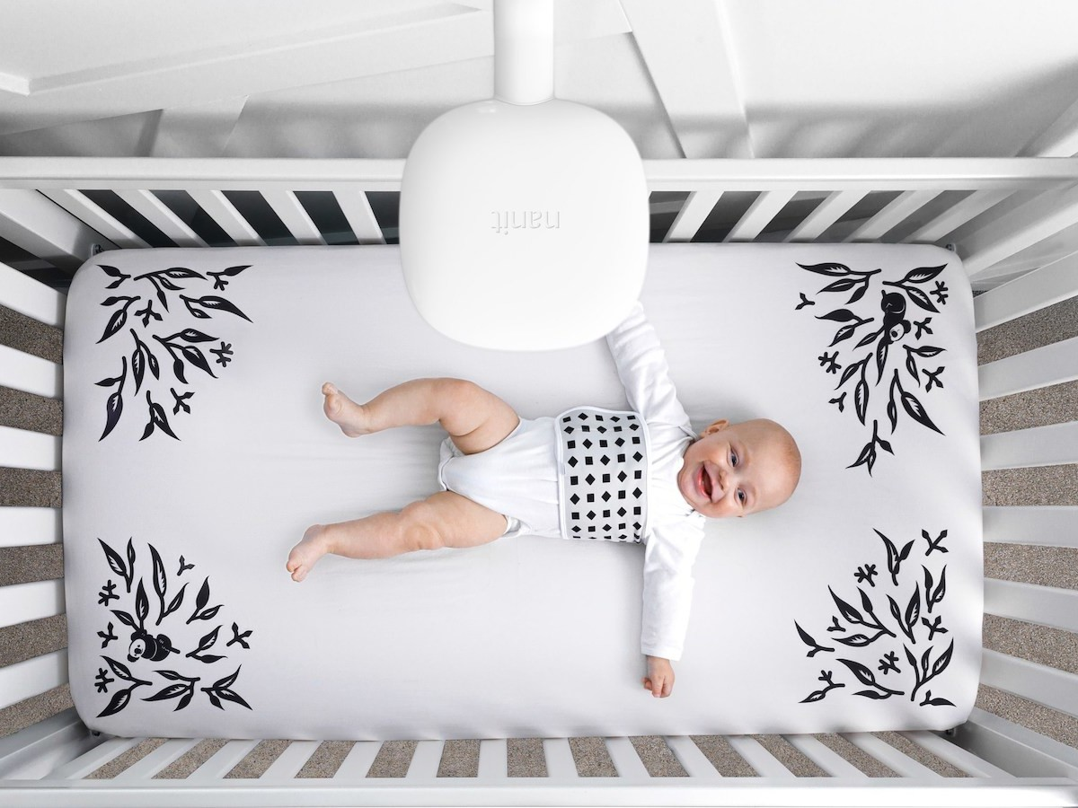 Nanit Smart Crib Sheets measure your baby's height while they stay snugly in bed