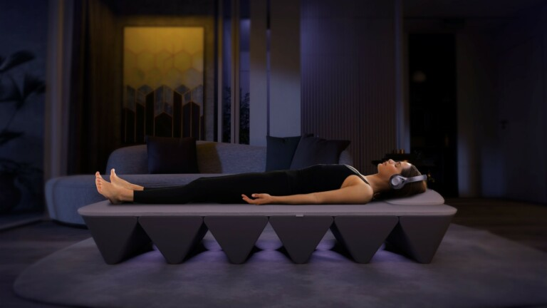OPUS SoundBed vibroacoustic bed combines sound and vibration for daily at-home self-care