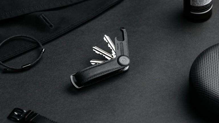 Orbitkey Black Edition Bundle limited release key organizer carries up to 7 keys