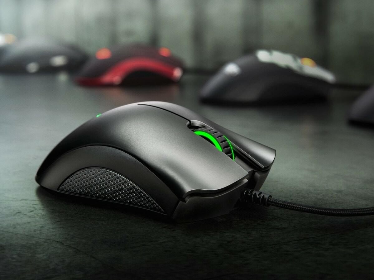 Razer DeathAdder Essential gaming mouse has a 6,400 DPI optical sensor and durability