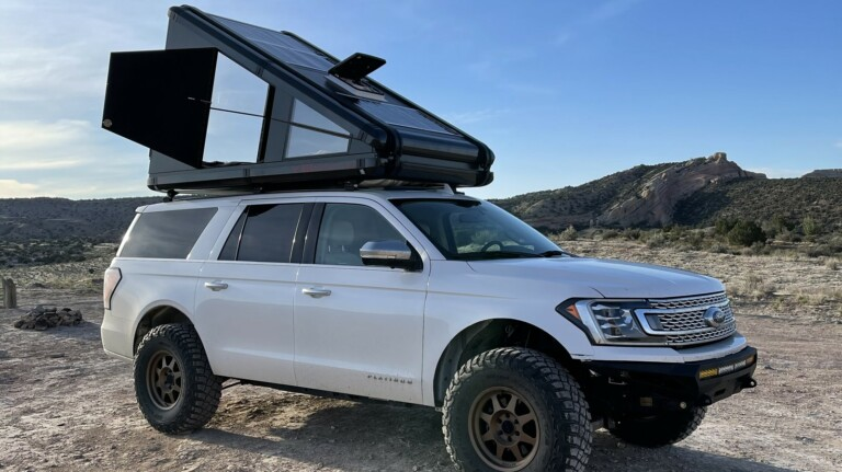 Redtail Overland Redtail RTC vehicle top camper gives you both comfort and freedom