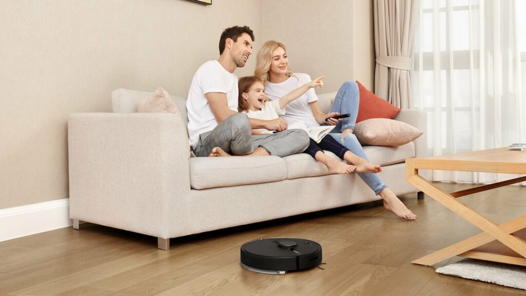 This smart robot vacuum mop maps out your home and keeps your floors squeaky clean Roborock S6 Pure smart robotic vacuum mop