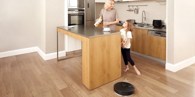 This smart robot vacuum mop maps out your home and keeps your floors squeaky cleanRoborock S6 Pure smart robotic vacuum mop