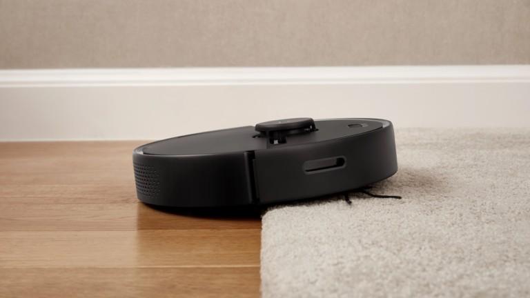 Roborock S6 Pure smart robotic vacuum mop uses LiDAR navigation and multifloor mapping