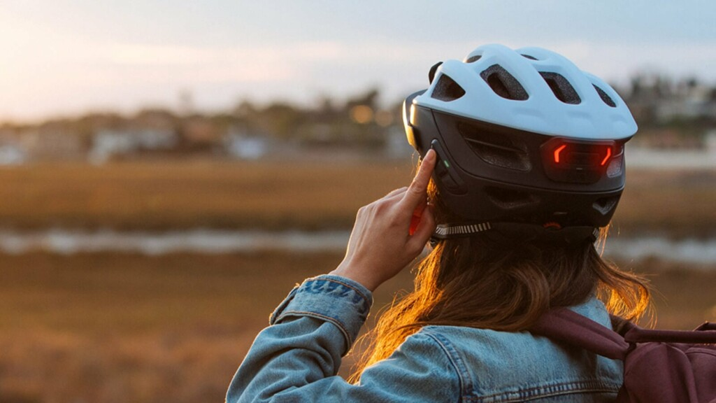 These cool bike accessories help make your summer rides easier and safer than ever Sena R1 EVO high-tech cycling helmet