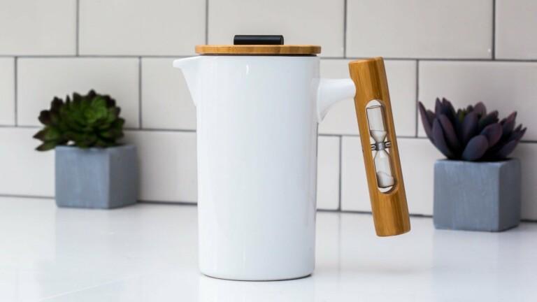StramperShop StamperPress French press coffee maker features high-quality ceramic