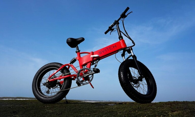 This foldable eBike takes you farther thanks to its swappable battery technology