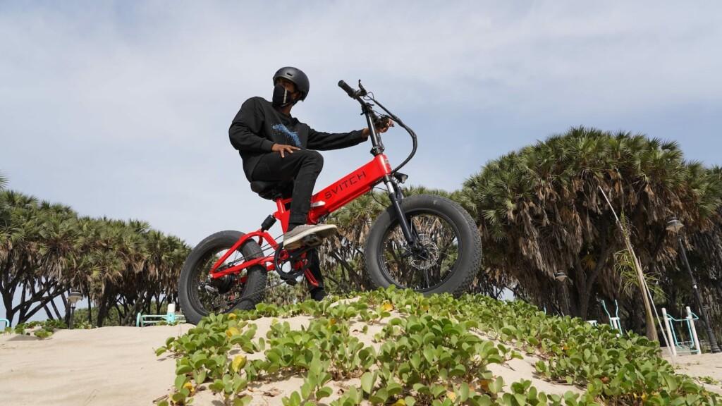 Svitch Bike multipurpose foldable eBike