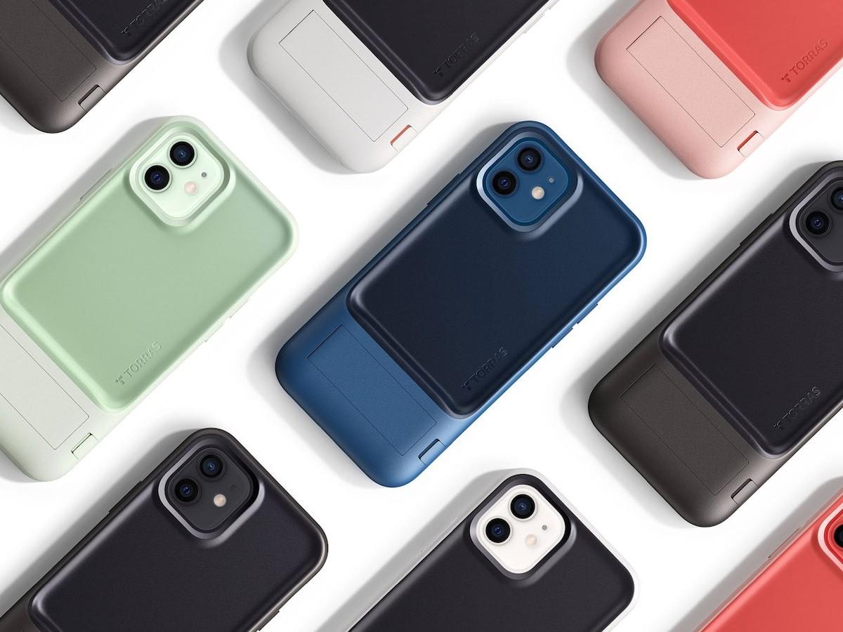 TORRAS x inDare UPRO nonslip smartphone case has a uniquely ergonomic, concave design