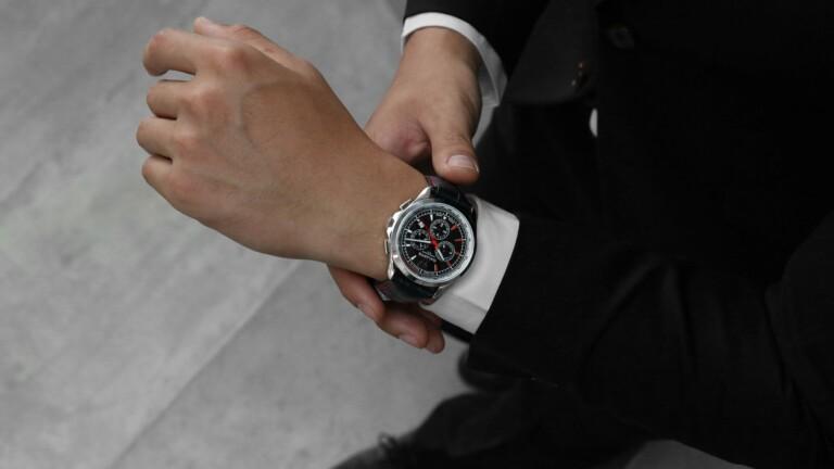 The Galante watch contains a salvaged piece of Lamborghini Gallardo
