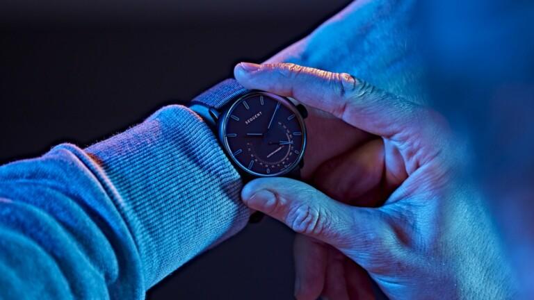 Titanium Elektron smart self-charging watch uses gravity for an infinite power reserve