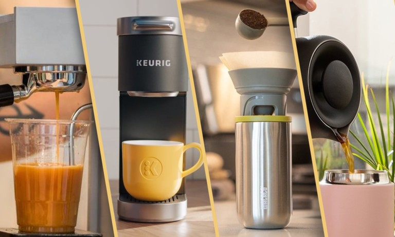Coffee machines you've never seen before—concrete designs, telescopic grinders, & more