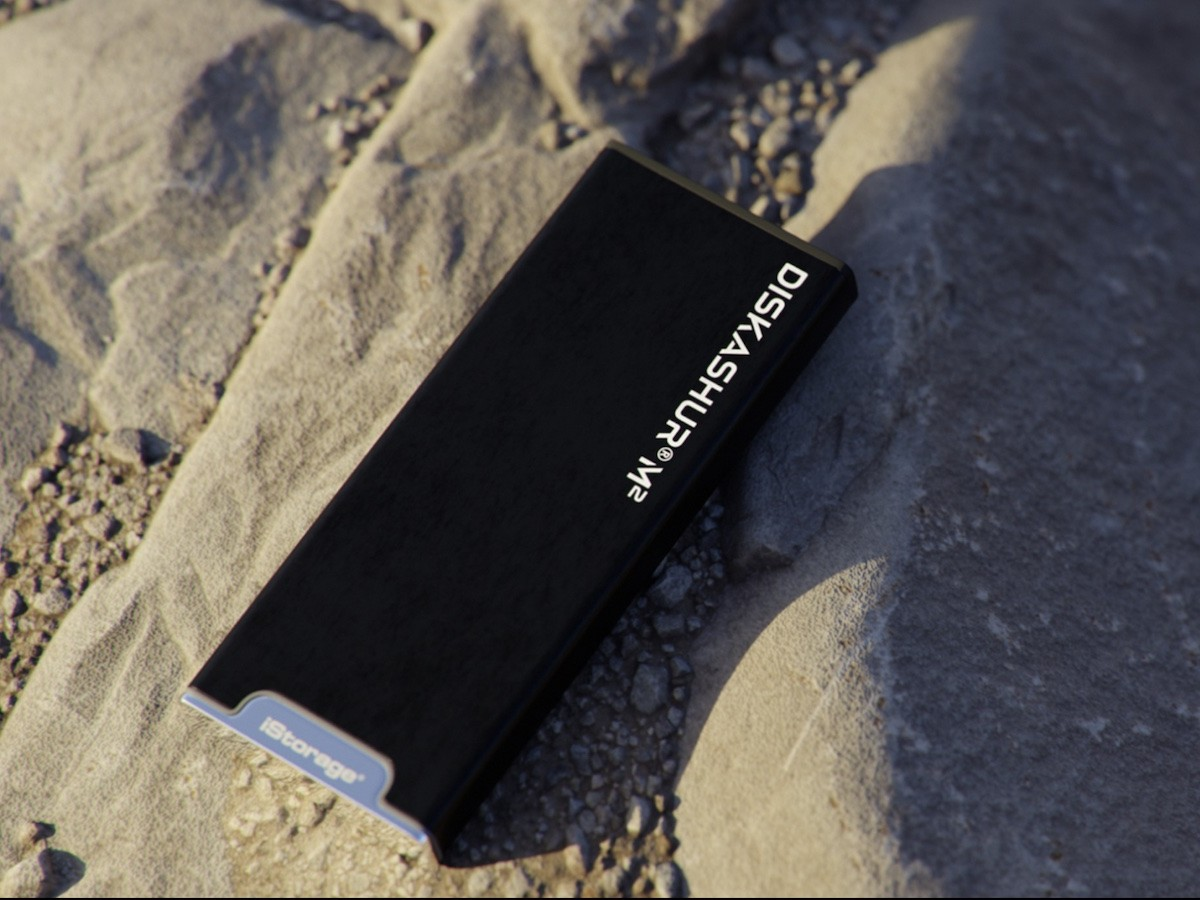 iStorage diskAshur M2 encrypted SSD has a Common Criteria EAL 5+ secure microprocessor thumbnail