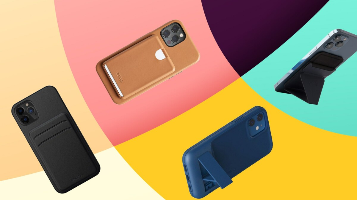 iPhone 12 wallet cases that are pocket friendly and keep your cards attached to your phone