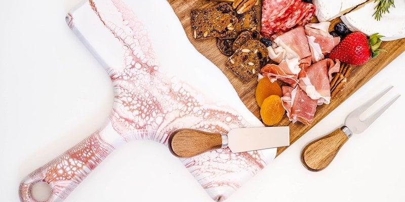 ynn Liana Serveware Wood Cheese Boards