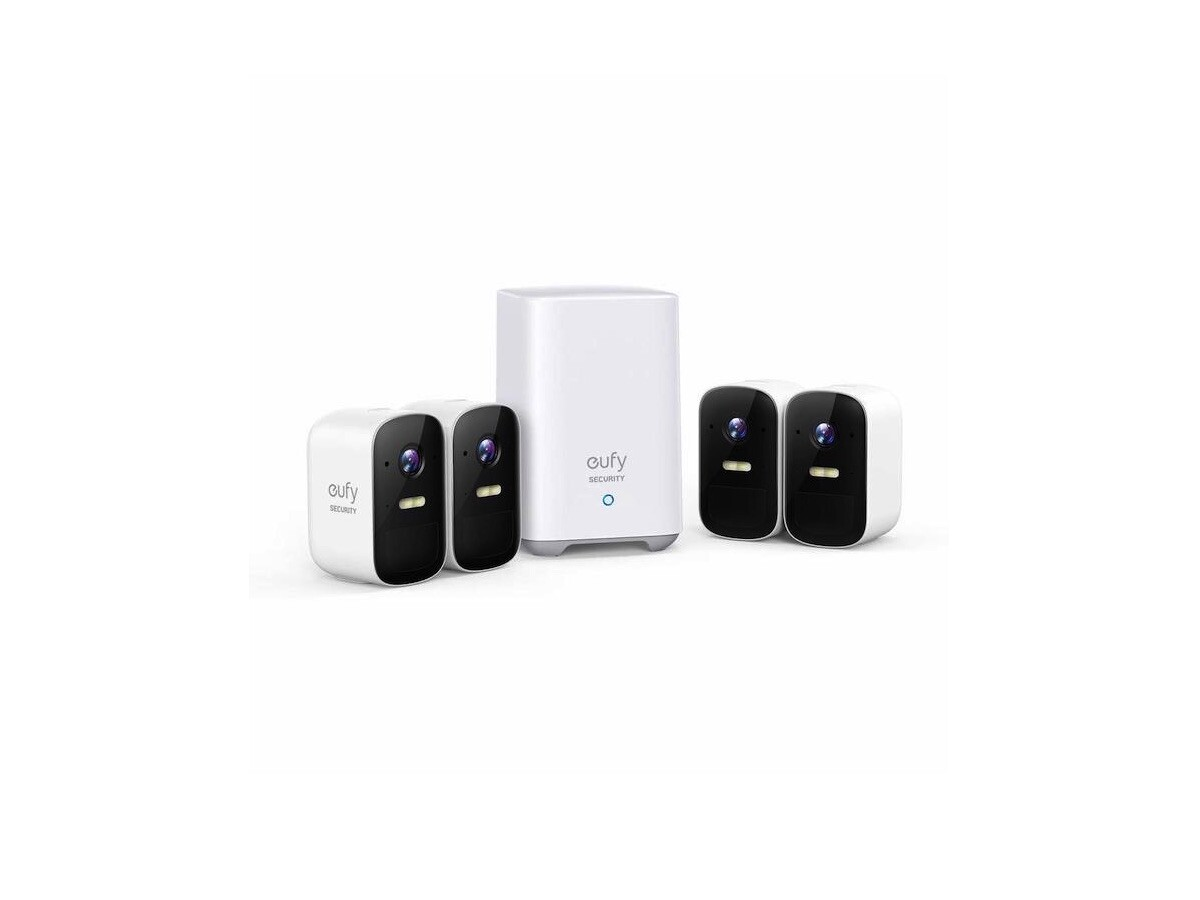 Anker eufyCam 2C home security system live streams and records footage in 1080p HD