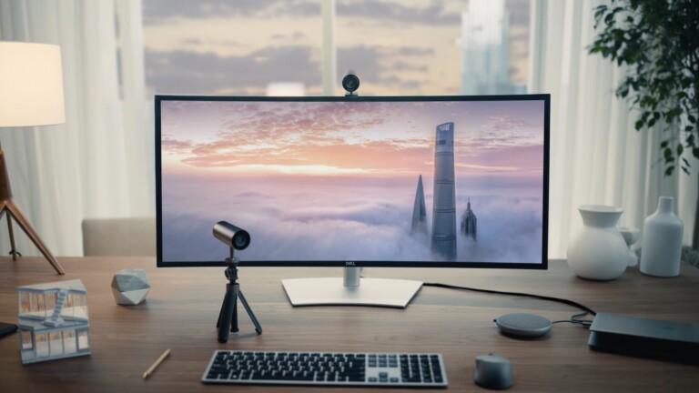 Dell UltraSharp Webcam offers 4K high dynamic range and Sony's STARVIS CMOS sensor