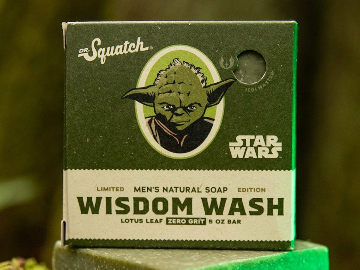 Dr. Squatch Star Wars Soap Collection has soap inspired by favorite Star Wars legends