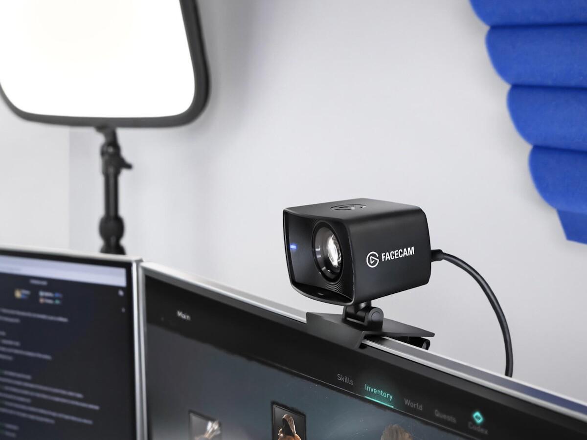 Elgato Facecam pro webcam boasts a professional-grade lens and a cutting-edge image sensor