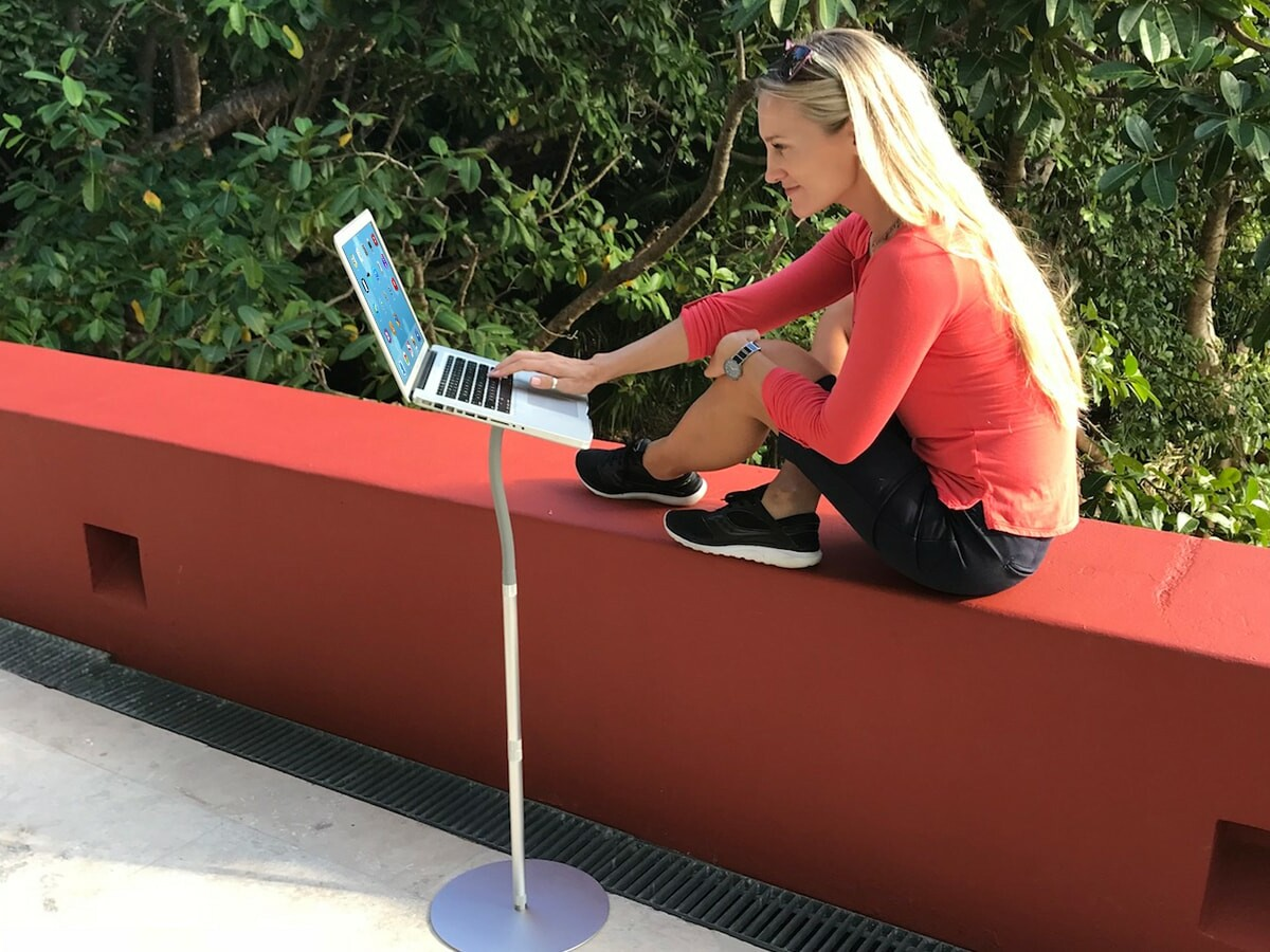 FLEXTAND Laptop Stands provide multiple ergonomic positions & orientations for computers