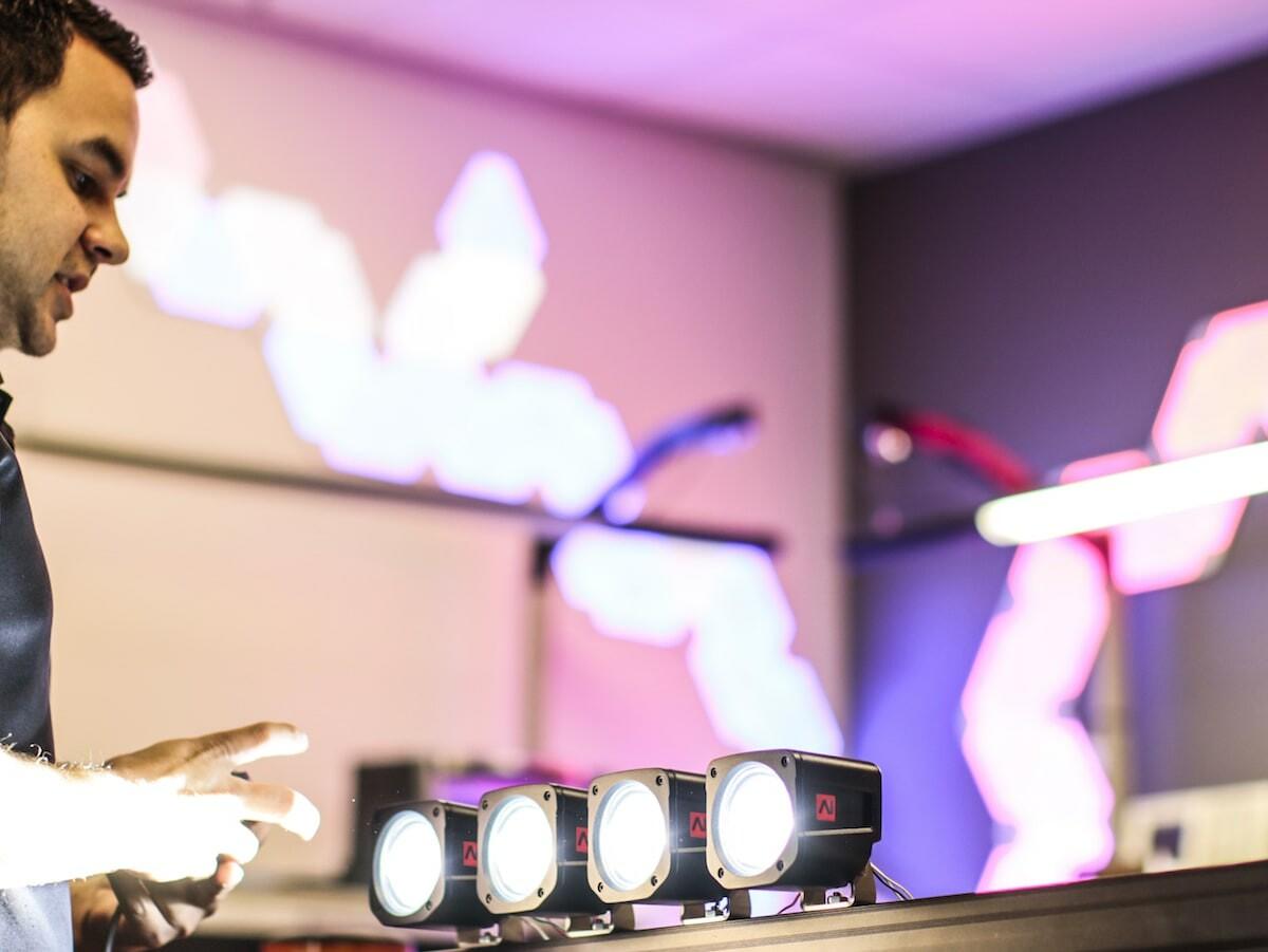 Feniex Industries AI Cube off-road pod light offers 2,100 lumens of light between 10–60°