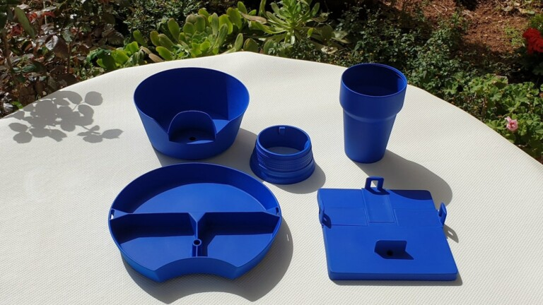 Go TPC portable dinnerware lets you eat anywhere and innovates on-the-go mealtimes
