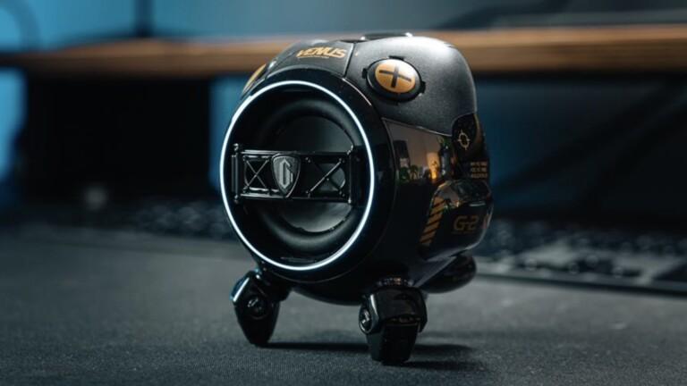 "GravaStar Venus futuristic portable <em class=""algolia-search-highlight"">speaker</em> has a unique design and a zinc alloy shell"