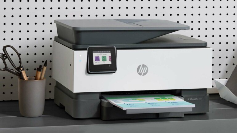 HP OfficeJet Pro 9015e All-in-One Printer includes 6 free months' worth of Instant Ink