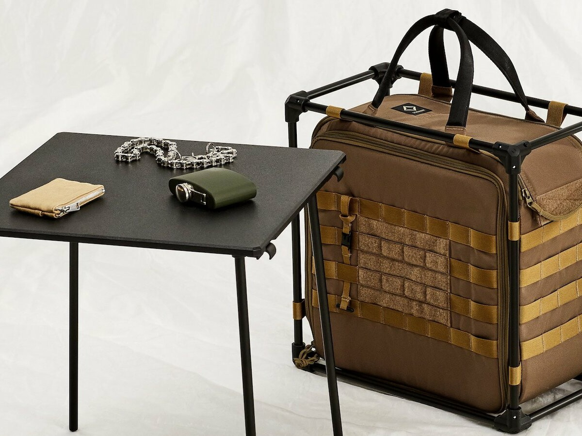 Helinox Tactical Field Office modular workspace encourages productivity anywhere