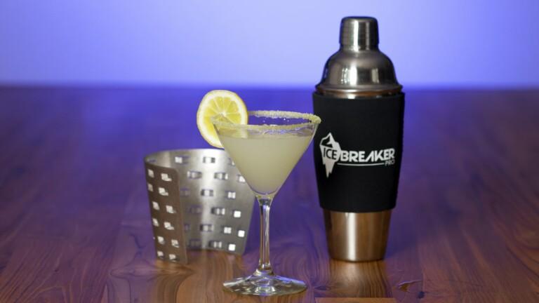 The Original IceBreaker Pro cocktail shaker sleeve creates tastier drinks in less time