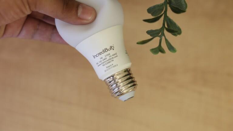 "IncrediBulb shatterproof LED bulb is energy efficient and produces beautiful <em class=""algolia-search-highlight"">light</em>"